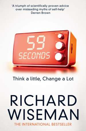 59 Seconds de Richard Wiseman