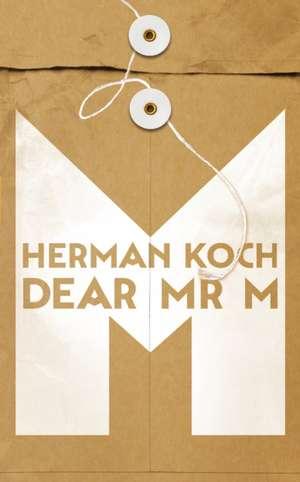 Dear Mr. M de Herman Koch