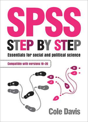 SPSS Step by Step imagine