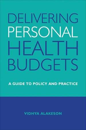 Delivering Personal Health Budgets imagine