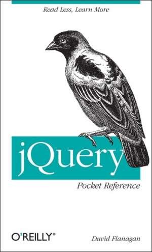 jQuery Pocket Reference de David Flanagan