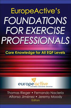 Europeactive's Foundations for Exercise Professionals pdf