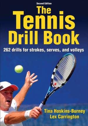 The Tennis Drill Book imagine