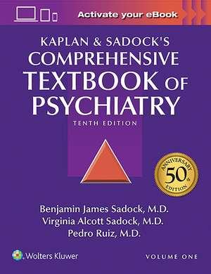 Kaplan and Sadock's Comprehensive Textbook of Psychiatry de Benjamin J. Sadock