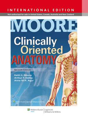 Moore Clinically Oriented Anatomy de Keith L. Moore