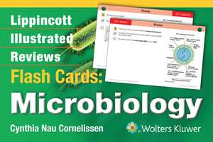 Lippincott Illustrated Reviews Flash Cards: Microbiology