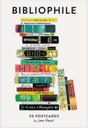 Bibliophile: 50 Postcards de Jane Mount