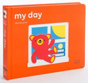 Touchwords: My Day: (baby Shower Gift, New Baby Gift, Interactive Board Book) imagine