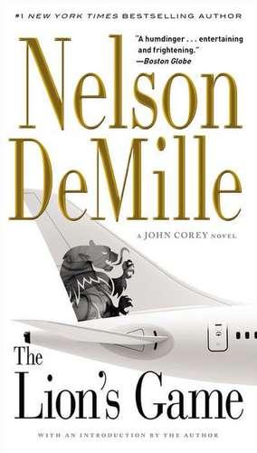 The Lion's Game de Nelson DeMille