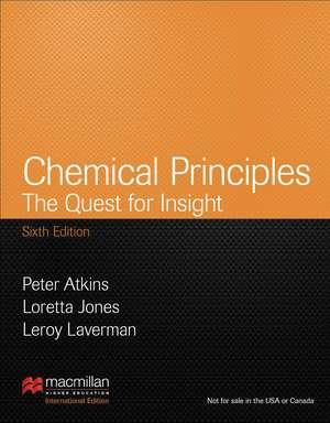 Chemical Principles (Palgrave Version) de Peter Atkins