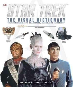 Star Trek:  The Visual Dictionary de Paul Ruditis