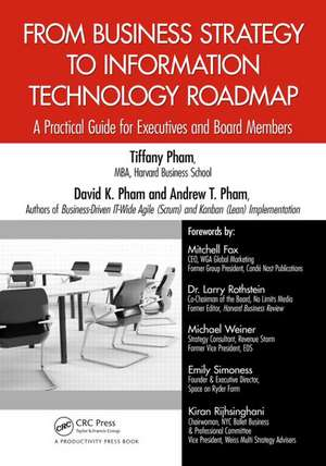 From Business Strategy to Information Technology Roadmap