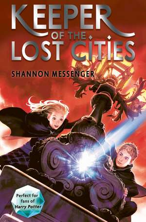 Keeper of the Lost Cities de Shannon Messenger