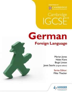 Cambridge IGCSE(R) and International Certificate German Foreign Language