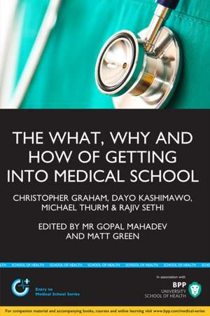 What, Why and How of Getting Into Medical School