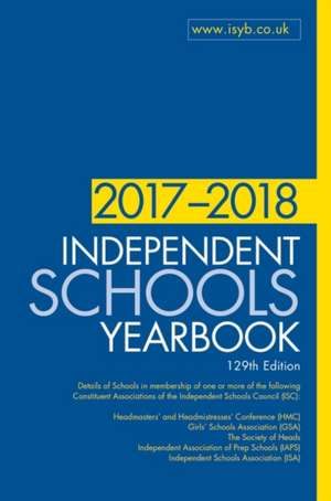 Independent Schools Yearbook 2017-2018