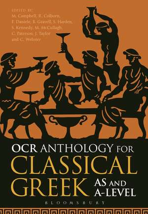 OCR Anthology for Classical Greek AS and A Level de Dr Malcolm Campbell