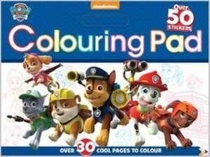 Nickelodeon Paw Patrol Colouring Pad
