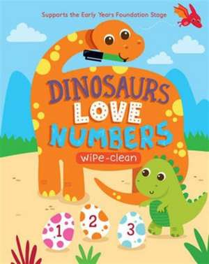 Dinosaurs Love Numbers