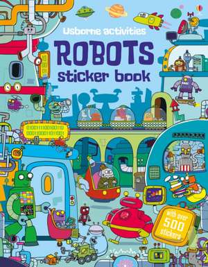 Robots Sticker Book