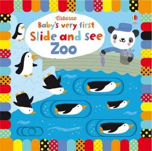 Baby's Very First Slide and See Zoo de Fiona Watt
