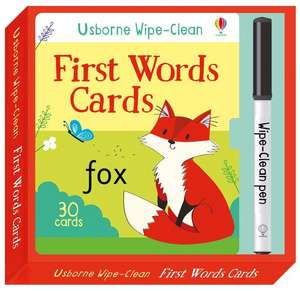 Wipe-Clean First Words Cards