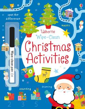 Wipe-Clean Christmas Activities de Kirsteen Robson