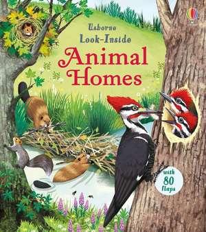 Look Inside Animal Homes de Emily Bone