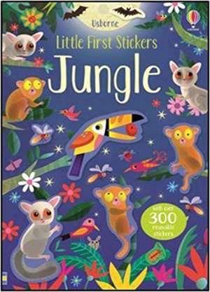 Little First Stickers Jungle imagine