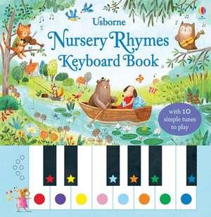 Nursery Rhymes Keyboard Book de Sam Taplin