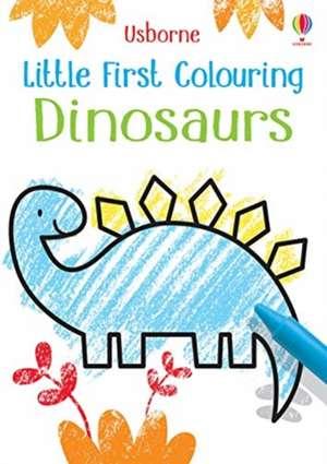 Little First Colouring Dinosaurs de KIRSTEEN ROBSON