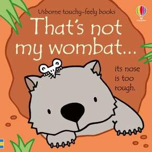 That's not my wombat... imagine