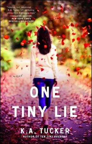 One Tiny Lie: A Novel de K. A. Tucker