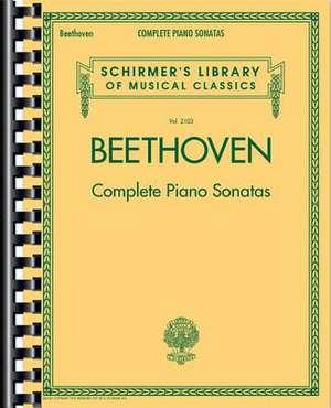 Beethoven - Complete Piano Sonatas:  Schirmer's Library of Musical Classics Vol. 2103 de Hans Von Bulow
