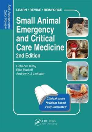 Small Animal Emergency and Critical Care Medicine imagine
