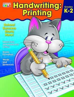 Handwriting:  Printing Workbook de Brighter Child