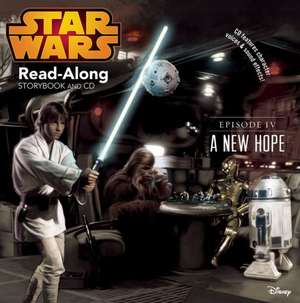 Star Wars: A New Hope Read-Along Storybook and CD de Randy Thornton