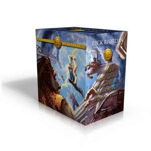 The Heroes of Olympus Hardcover Boxed Set de Rick Riordan