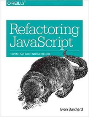 Refactoring JavaScript de Evan Burchard