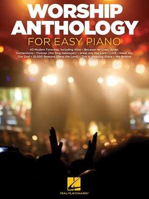 Worship Anthology for Easy Piano de Hal Leonard Publishing Corporation