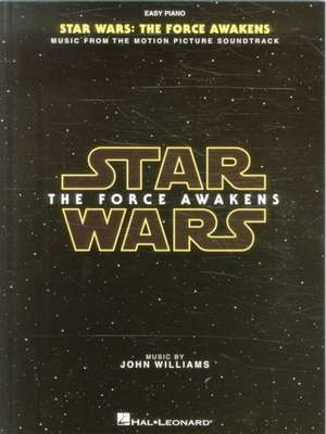 Star Wars - Episode VII: The Force Awakens (Easy Piano Book)