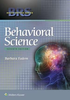 BRS Behavioral Science de Barbara Fadem PhD