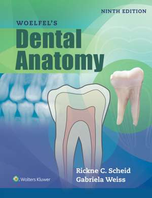 Woelfels Dental Anatomy de Rickne C. Scheid DDS