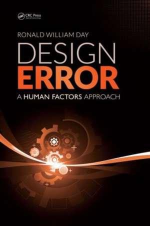 Design Error de Ronald William Day