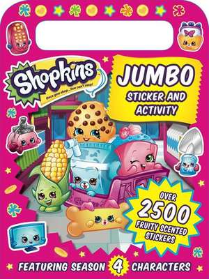 Shopkins Jumbo Sticker and Activity de Sizzle Press