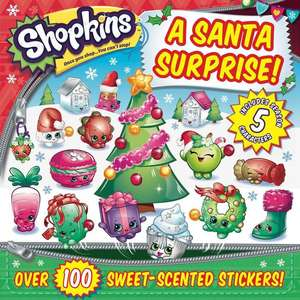 Shopkins a Santa Surprise! de Sizzle Press