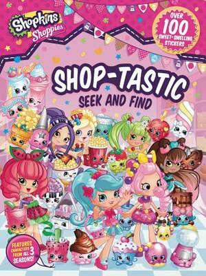 Shoppies Shop-Tastic Seek and Find de  Sizzle Press