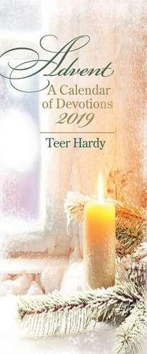 Advent a Calendar of Devotions 2019 (Pkg of 10) de Teer Hardy