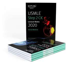 USMLE Step 2 CK Lecture Notes 2020: 5-book set de Kaplan Medical