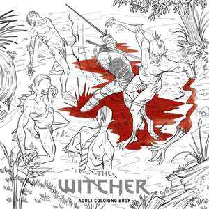 The Witcher Adult Coloring Book de Marianna Strychowska